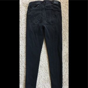 American Eagle Outfitters Jeans - American Eagle High rise Jeggings 2Short studded